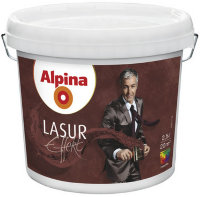 Декоративная краска Alpina Lasur Effekt Base 2.5л